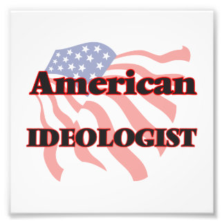 American Ideologist Photo Art