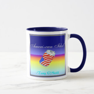 American Idol by Tony Oneill Mug