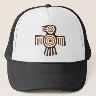 American Indian Bird Trucker Hat
