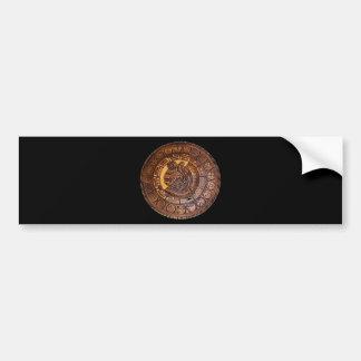 American Indian calendar design Bumper Stickers