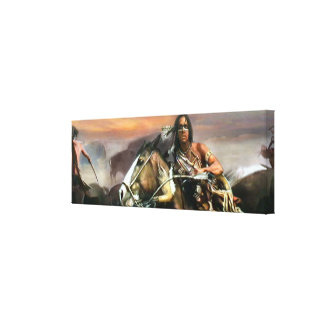 American Indian Canvas Print