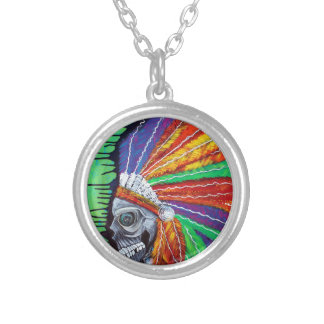 American Indian Chief Personalized Necklace