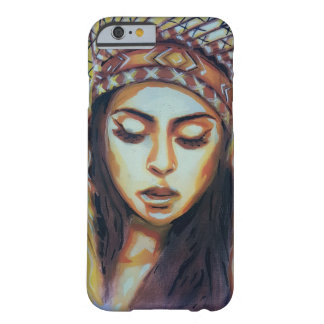 American Indian Girl Barely There iPhone 6 Case