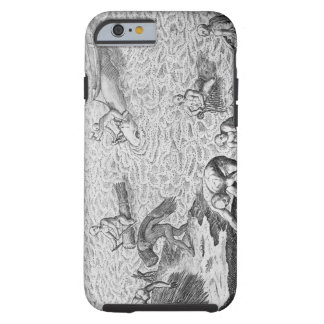 American Indian method of whaling, from an account Tough iPhone 6 Case