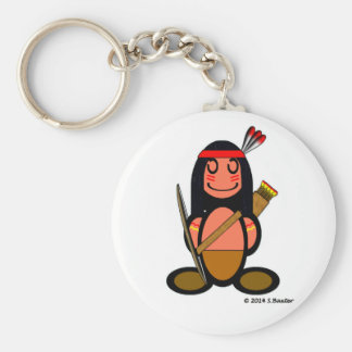 American Indian (plain) Keychain