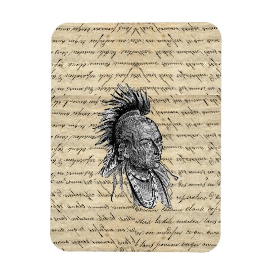 American Indian Rectangular Photo Magnet