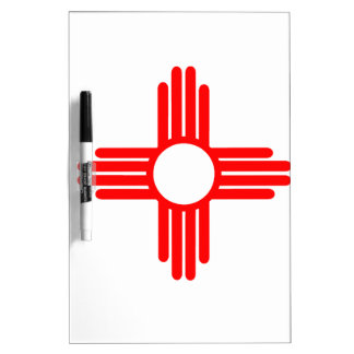 American Indian Sun Symbol Dry Erase Board