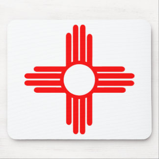 American Indian Sun Symbol Mouse Pad