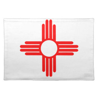 American Indian Sun Symbol Placemat