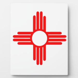 American Indian Sun Symbol Plaque