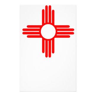 American Indian Sun Symbol Stationery
