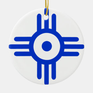 American Indian Symbol Christmas Ornament