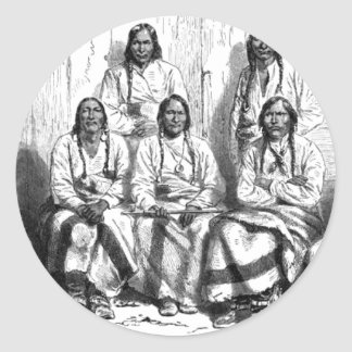 American Indians Sticker