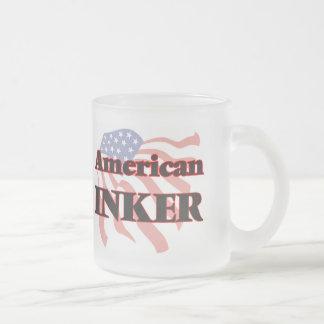 American Inker Frosted Glass Mug