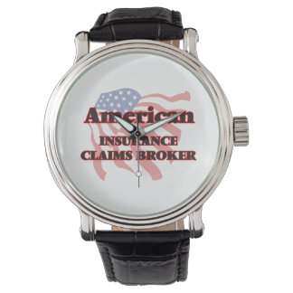 American Insurance Claims Broker Wrist Watch