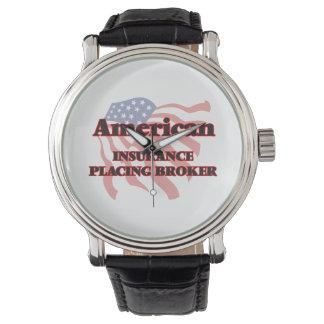 American Insurance Placing Broker Wristwatches