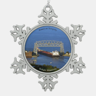 American Integrity Duluth ball/snowflake ornament