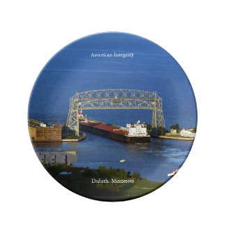 American Integrity Duluth decorative plate