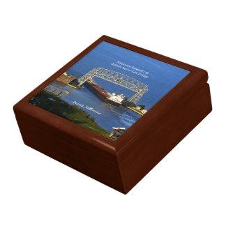 American Integrity in Duluth keepsake box