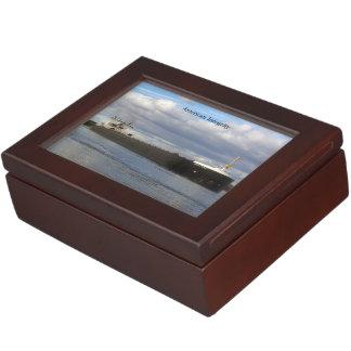 American Integrity rectangle keepsake box