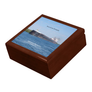 American Integrity square keepsake box