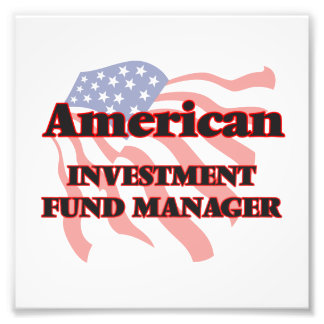 American Investment Fund Manager Photo Art
