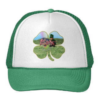 American Irish Leprechaun Mesh Hat