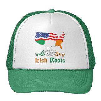 American Irish Roots Hat