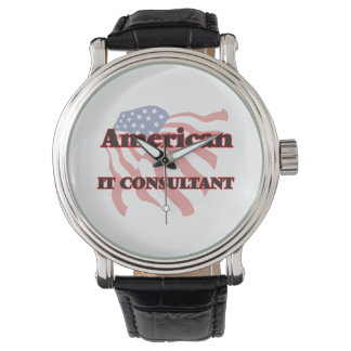 American It Consultant Wristwatches