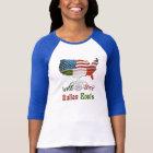 American Italian Ladies T-Shirts