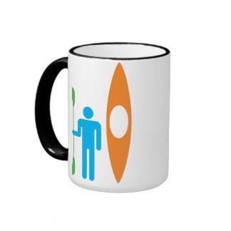 American Kayak Coffee Mugs
