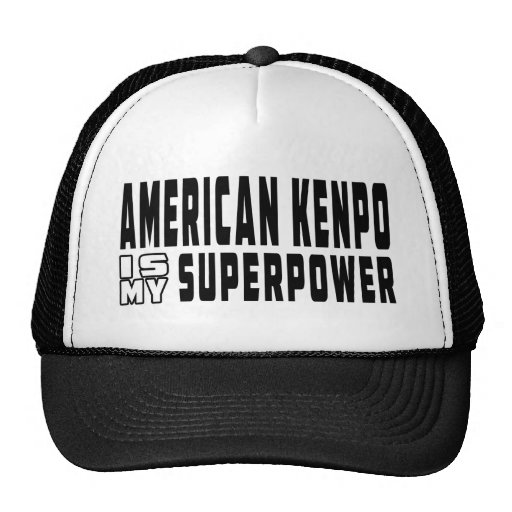 American Kenpo is my superpower Mesh Hat