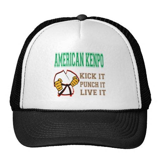 American Kenpo Kick it, Punch it, Live it Trucker Hat