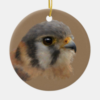 American Kestrel Christmas Ornament