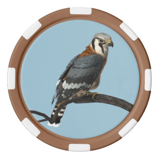 American Kestrel Clay Poker Chip