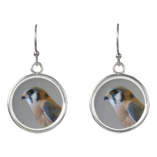 American Kestrel Earrings