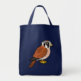 American Kestrel female Tote Bags