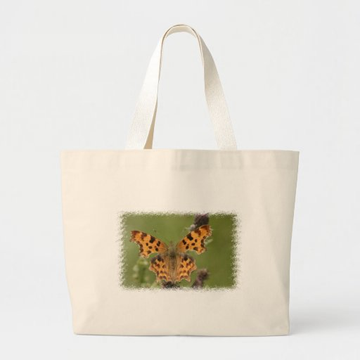 American Lady Butterfly Canvas Bag