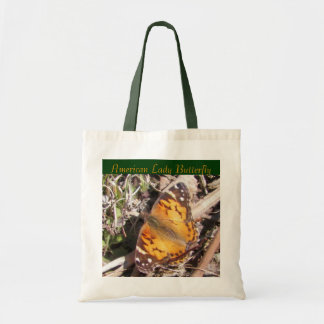 American Lady Butterfly Tote Budget Tote Bag