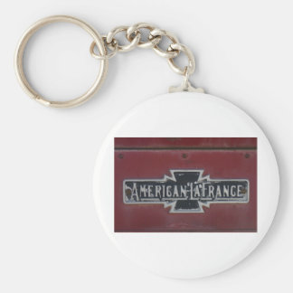 American LaFrance Firetruck Emblem Key Chains