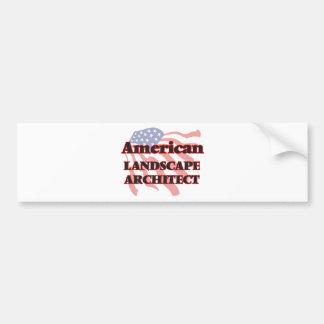 American Landscape Architect Bumper Sticker