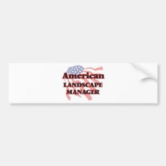 American Landscape Manager Bumper Sticker
