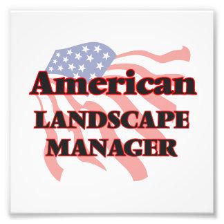 American Landscape Manager Photo Art
