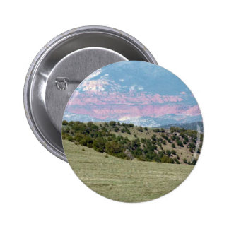 American Landscape Stones Canyons Mountain ranges 6 Cm Round Badge