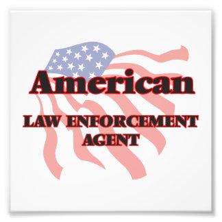 American Law Enforcement Agent Photo