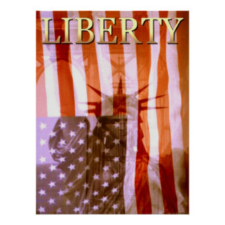 American Liberty Collage - Photo Art Poster