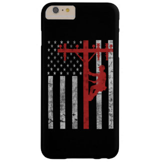 American Lineman Barely There iPhone 6 Plus Case