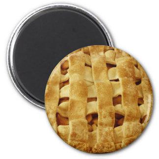 American Made Apple Pie Zig Zag Crust Magnet