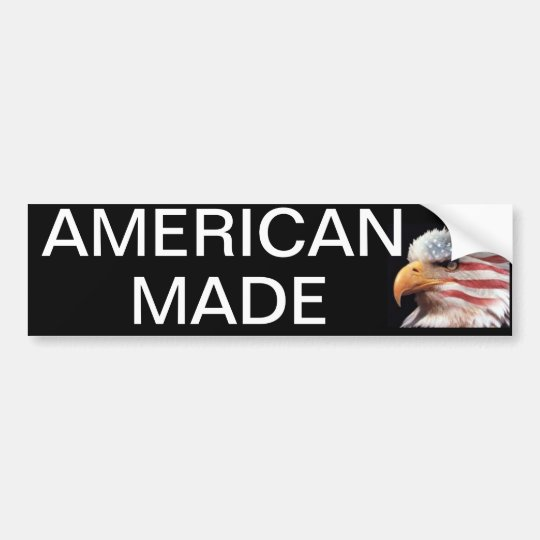 American Made Bumper Sticker