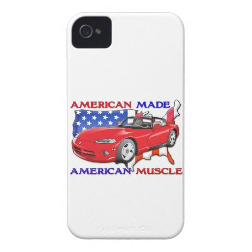 American Made Muscle Cars iPhone4 iPhone4s Case